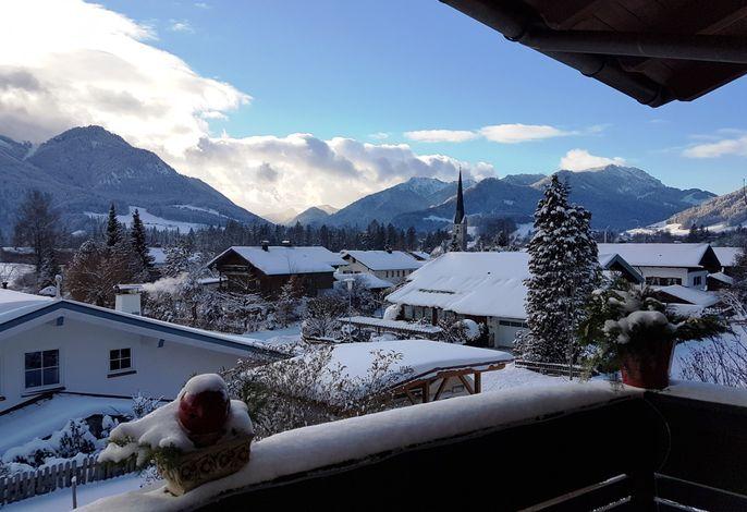 Winterimpression (vom Balkon)