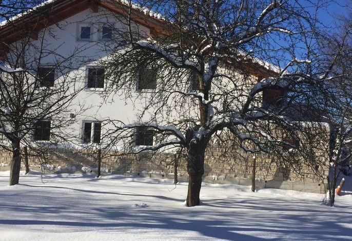 Ferienhaus Schnappenblick im Winter