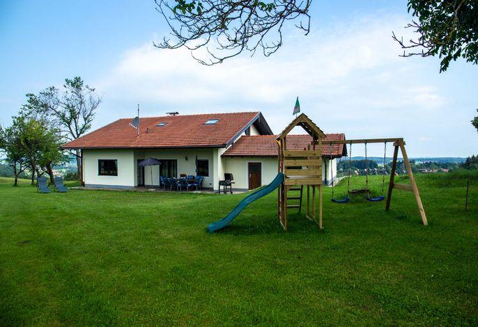 Unser sonniges Haus Terrasse