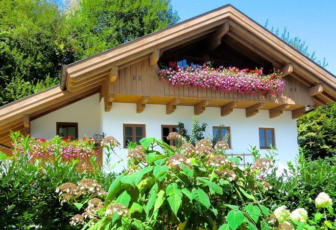 Ferienhaus www.auszeit-im-chiemgau.de im Sommer