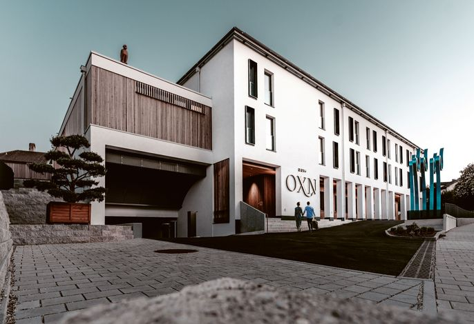 Außenansicht Hotel & Restaurant zumOXN