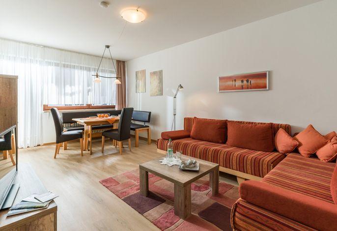 Wohn- und Essbereich Ferienwohnung Nr. F4