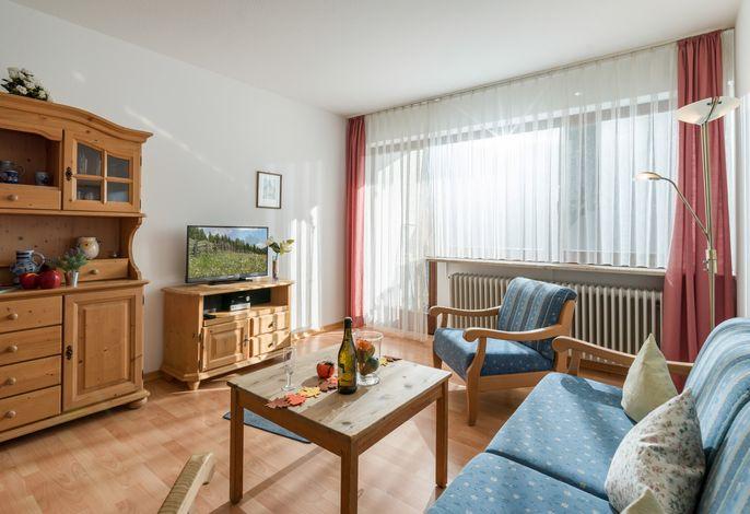 Wohn- und Essbereich in der Ferienwohnung Nr. F1
