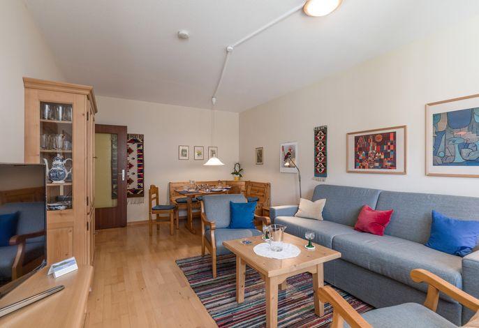 Wohn- und Essbereich Ferienwohnung Nr. D3