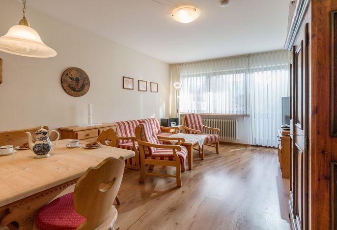 Wohn- und Essbereich Ferienwohnung Nr. E6