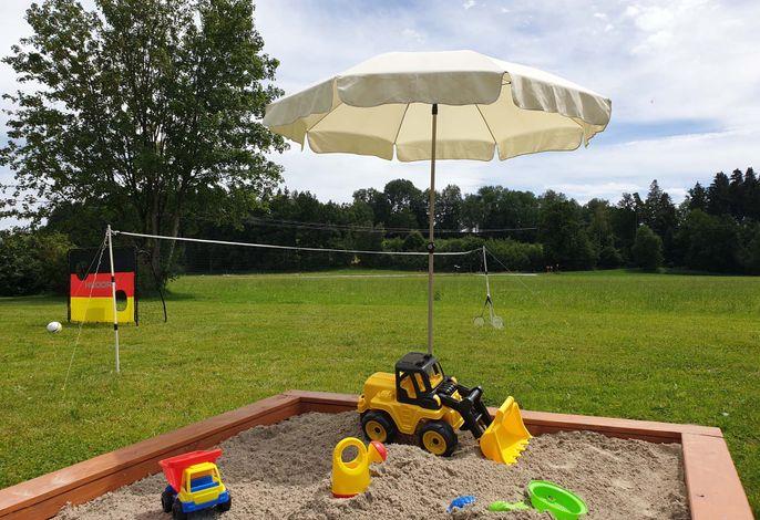 Spielsachen, Garten