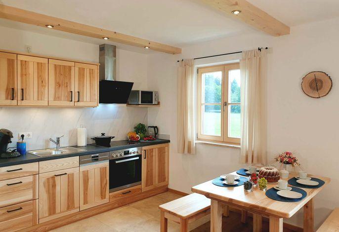 Ansicht Küche und Essplatz