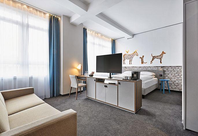 H+ Hotel Bremen - Deluxe Doppelzimmer