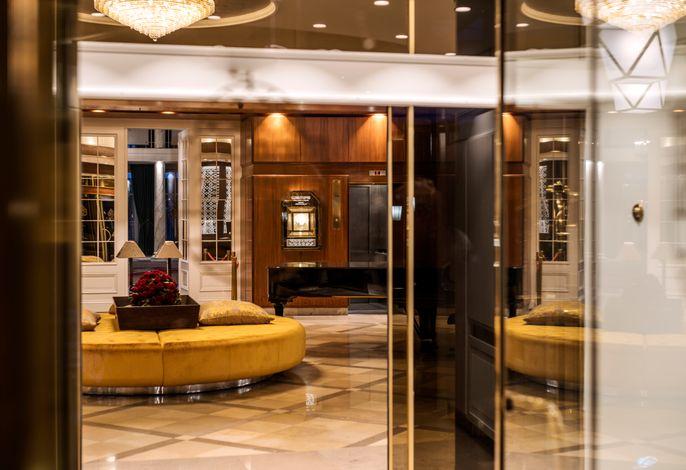 Parkhotel Bremen - Eingang Lobby