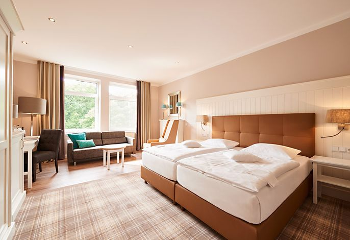 Hotel Munte am Stadtwald - Doppelzimmer Deluxe