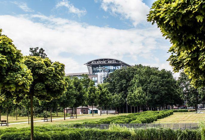 Atlantic Hotel Airport Bremen - Außenansicht