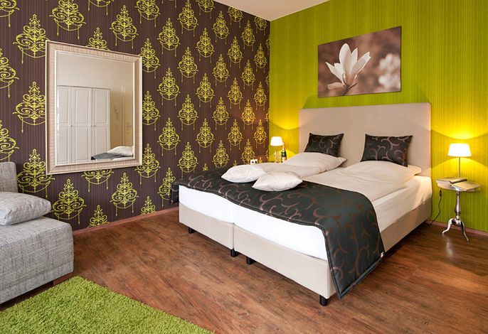 Hotel Residence Bremen - Familienzimmer/Appartement Green