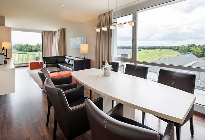 ATLANTIC Hotel an der Galopprennbahn - Wohnraum Suite