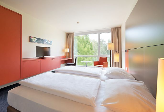 ATLANTIC Hotel an der Galopprennbahn - Doppelzimmer Economy Class