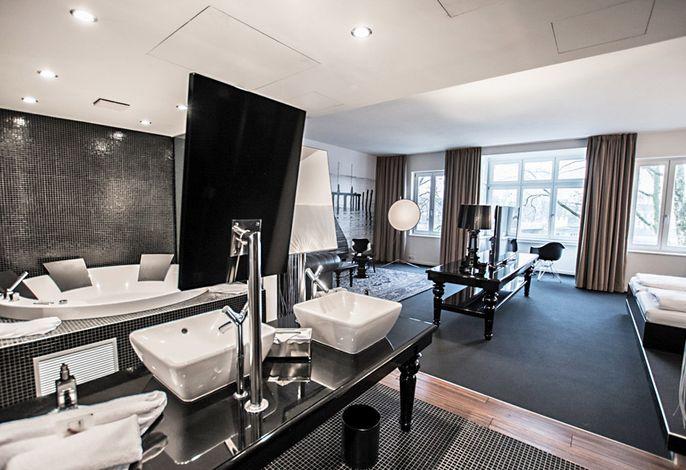 Designhotel ÜberFluss-suite