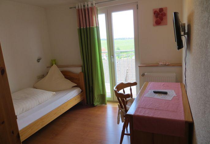 Einzelzimmer 13 mit Balkon