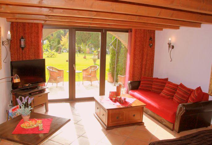 Hazienda Junior-Suite/Apartment mit Terrasse 40 qm