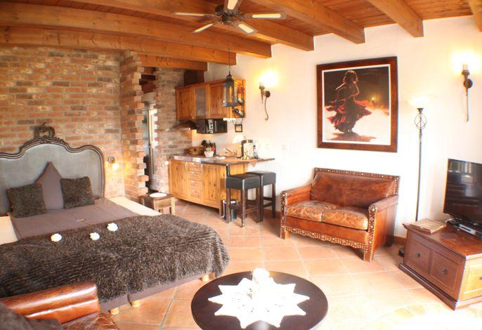Hazienda Junior-Suite/Apartment mit Balkon 30 qm
