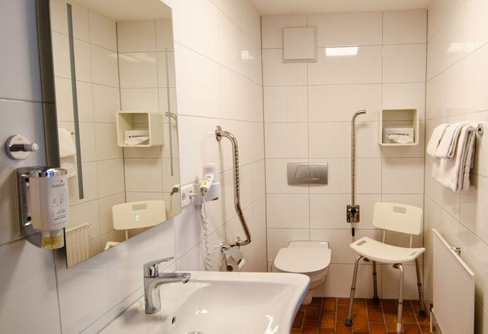 Kurgarten-Hotel Junior Suite Badezimmer-Beispiel