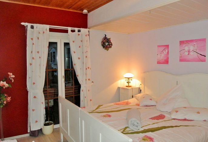 Schlafzimmer 2 Wasserbett