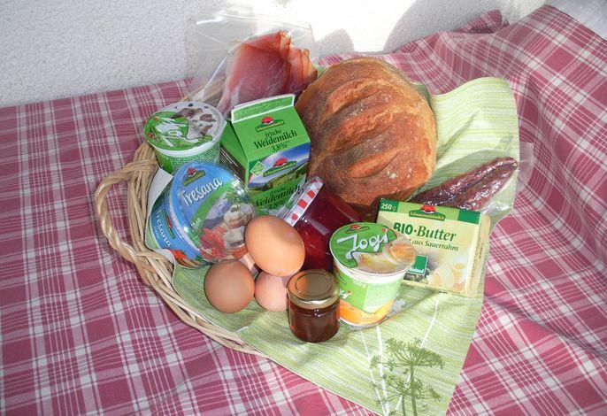 Dorfurlaub Partner Frühstücksangebot, per e-mail oder Telefon buchbar