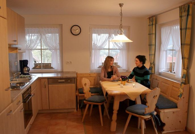 Wohnküche der Wohnung 1