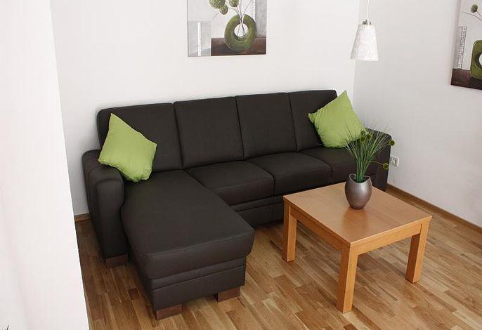 Couch im Wohnbereich 1.OG