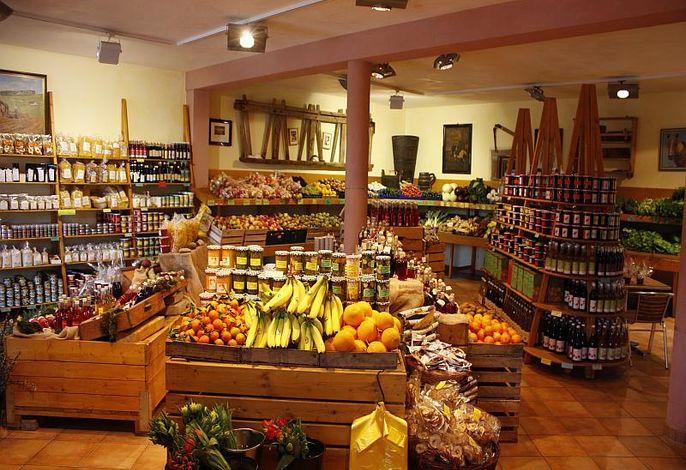 Blick in den Bauernladen