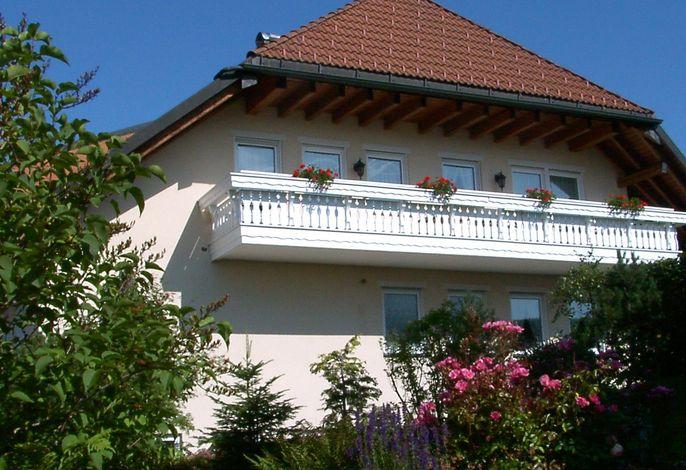 Ferienwohnung Balkon