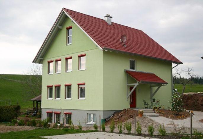 Gästehaus Hasengrund mit den Wohnung Apfelblüte, Himmelsblick und Sternschnuppe