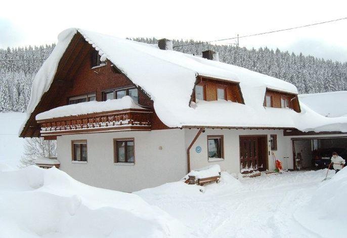 Haus Pfaff im Winter