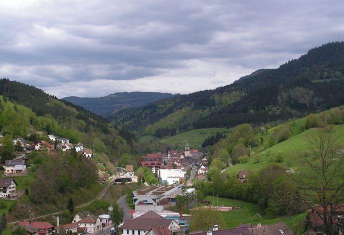 Blick auf Bad Peterstal