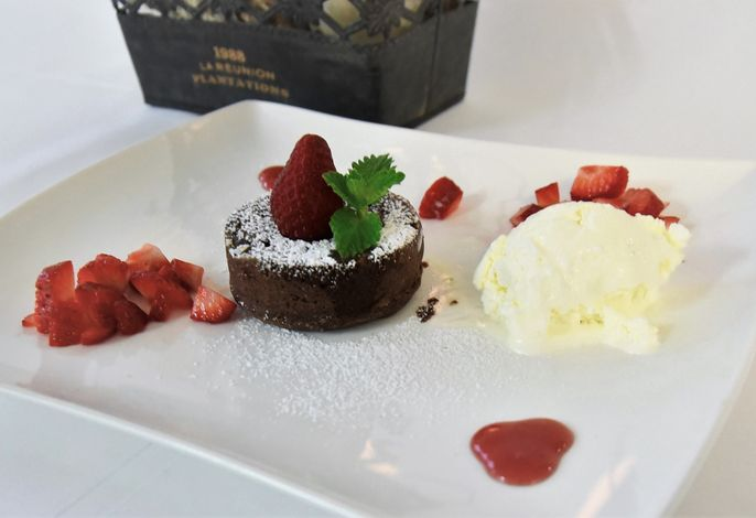 Dessert Schokolade Lava Cake