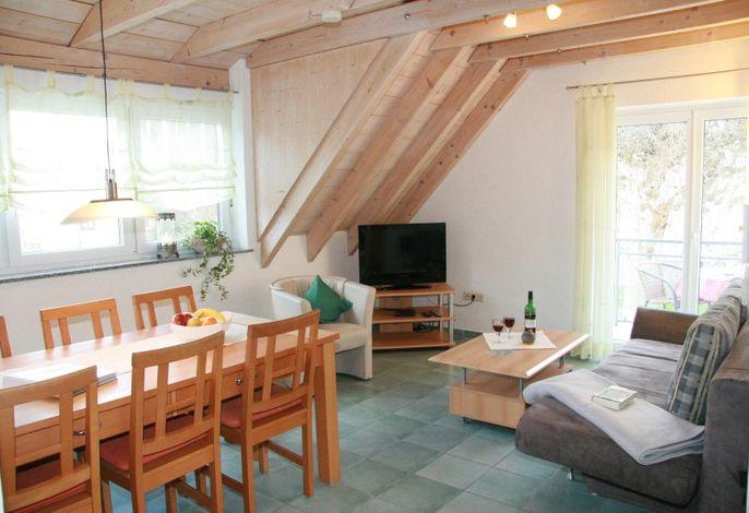 Ferienwohnungen Holder - Ferienwohnung 8 Wohn- Essbereich