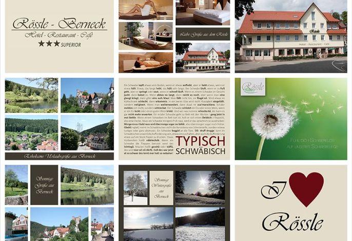 Postkarten vom Rössle