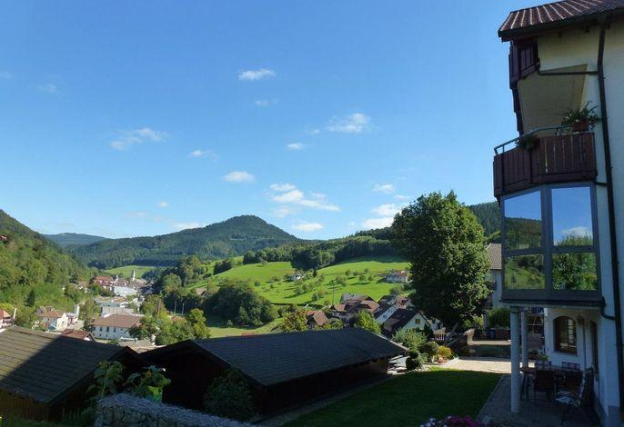 Haus Baumwart mit Panoramablick