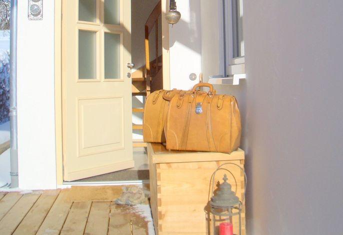 Ihr Haus mit ihrem eigenen Eingang