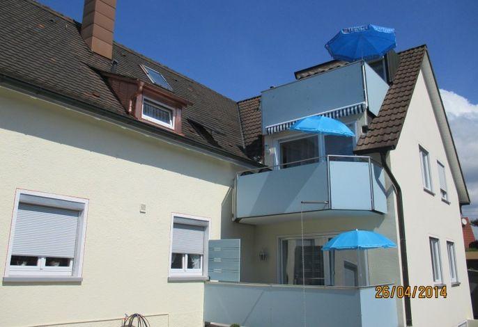Balkone übereinander