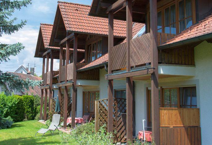 Ferienhaus 1 Balkone und Terassen
