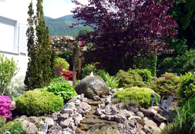 Garten Sprudelstein