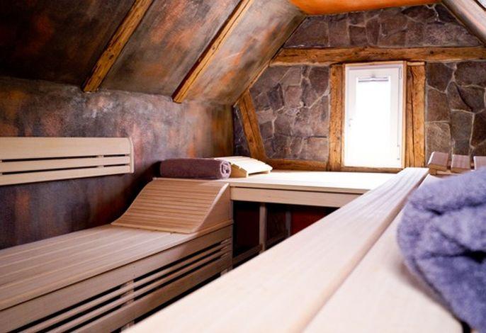Sauna für beide Ferienwohnungen