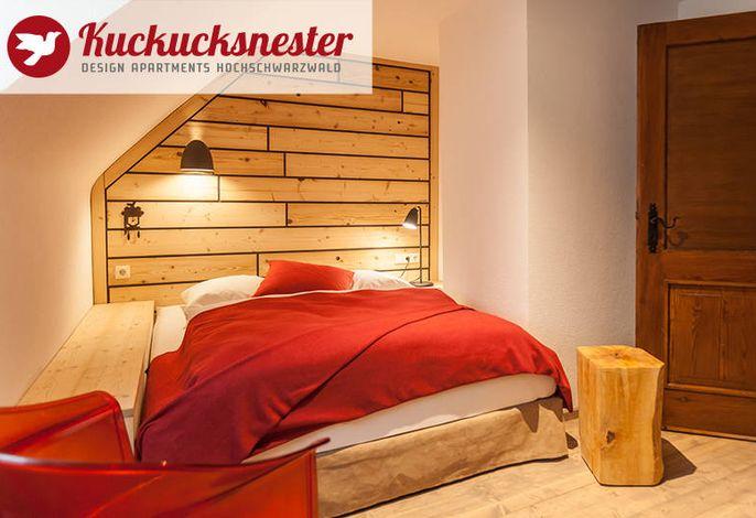 Kuckucksnester Menzenschwand - Wohnung links - Schlafzimmer