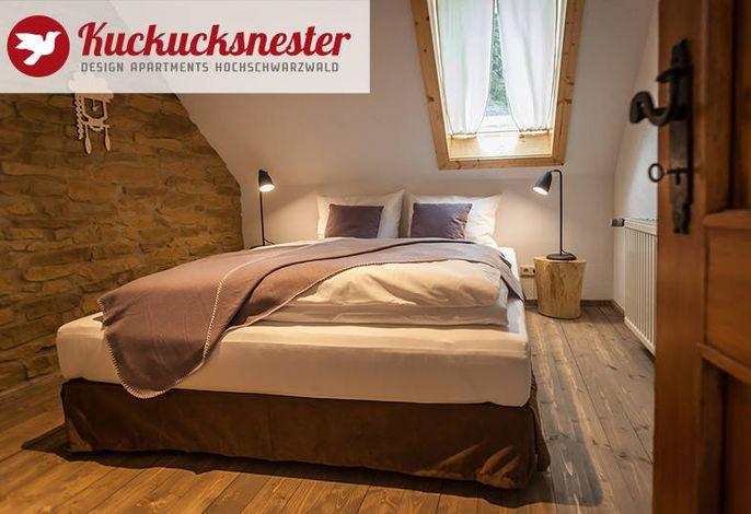 Kuckucksnester Menzenschwand - Wohnung rechts - Schlafzimmer