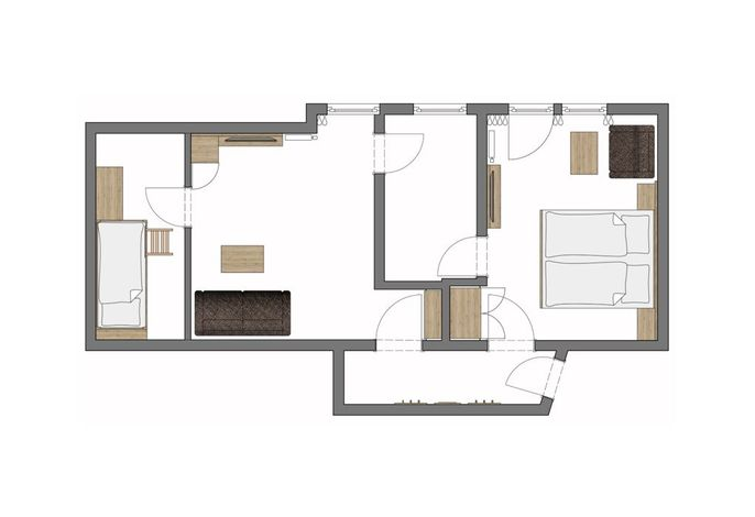 Familienappartement Stammhaus