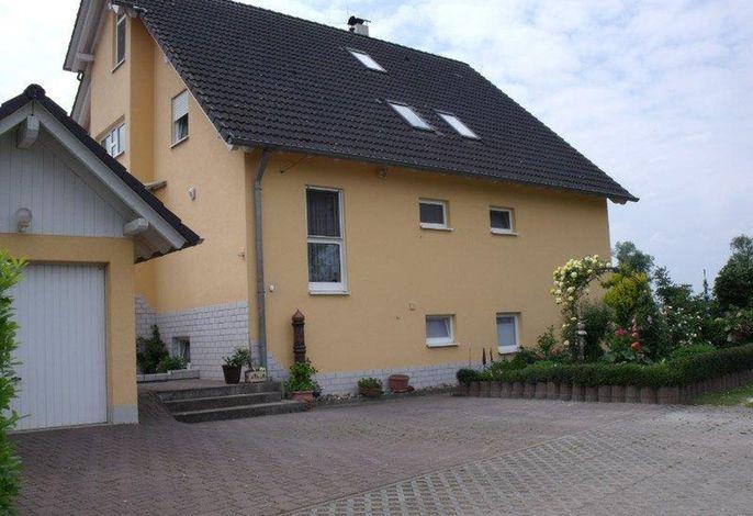 Seitenansicht Haus