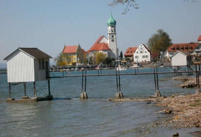 Blick auf die Halbinsel Wasserburg