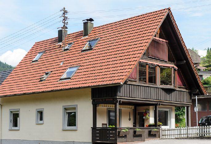 Das Haus - Die Wunsch-Ferienwohnung befindet sich im Erdgeschoß