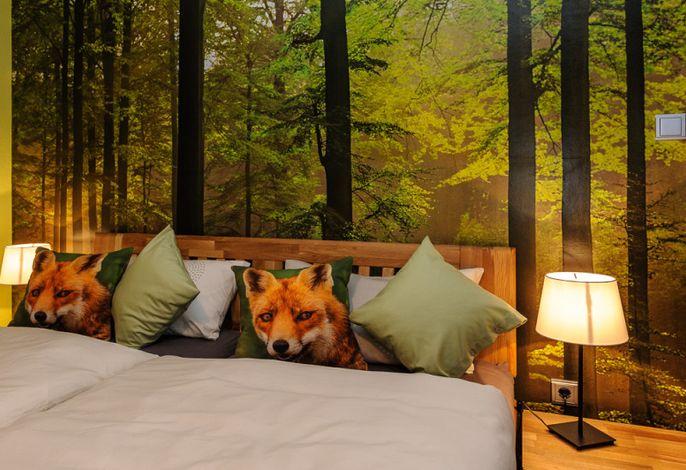 Wunsch-Ferien - Das Schlafzimmer: Der Fuchs mit im Doppelbett?
