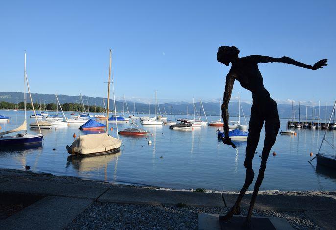 Kunst am Wasserburger Hafen