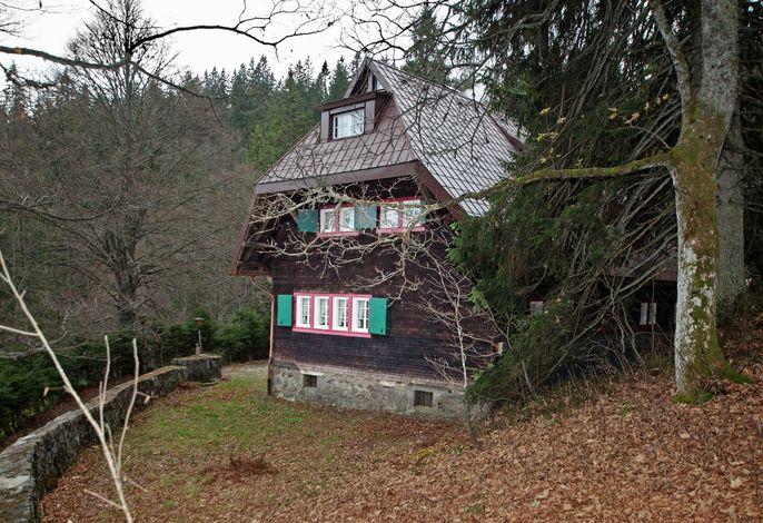 Zähringer Hütte Seitenansicht